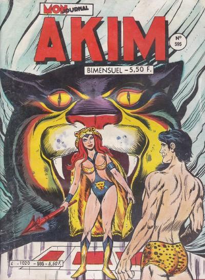 Couverture de Akim (1re série) -595- La tablette de bronze