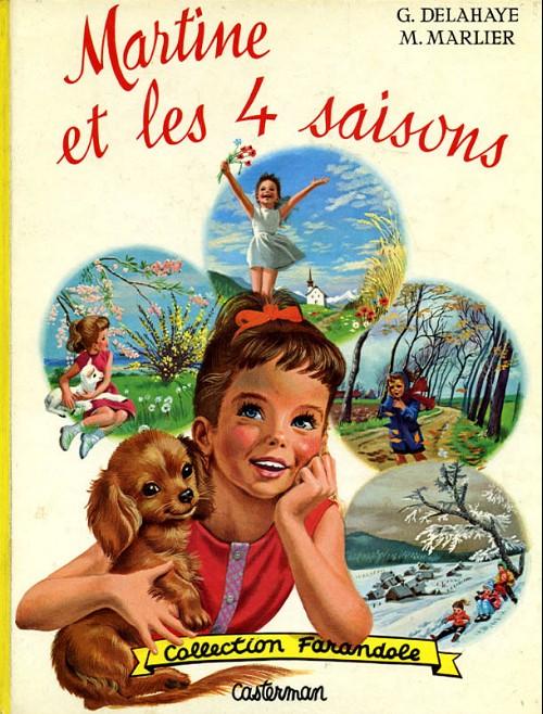 Couverture de Martine -11- Martine et les 4 saisons