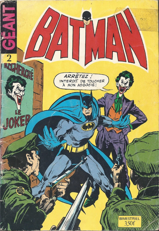 Couverture de Batman Géant (Sagédition - 3e série) -2- La fureur de Batman