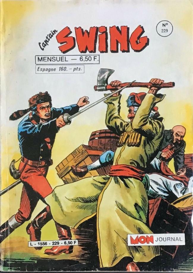 Couverture de Capt'ain Swing! (1re série) -229- Étrange conspiration