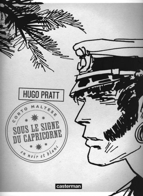 Couverture de Corto Maltese (2011 - En Noir et Blanc) -3- Sous le signe du Capricorne