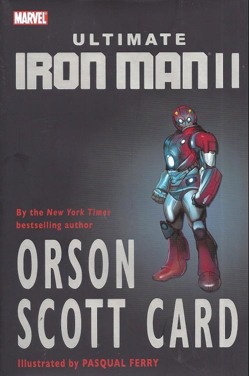 Couverture de Ultimate Iron Man II (2008) -INT- Ultimate Iron Man II