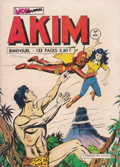 Couverture de Akim (1re série) -474- Le retour du Faucon