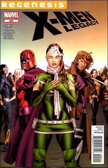 Couverture de X-Men Legacy (2008) -260- Half a step part 2