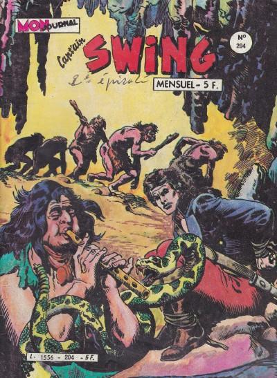 Couverture de Capt'ain Swing! (1re série) -204- La reine des serpents