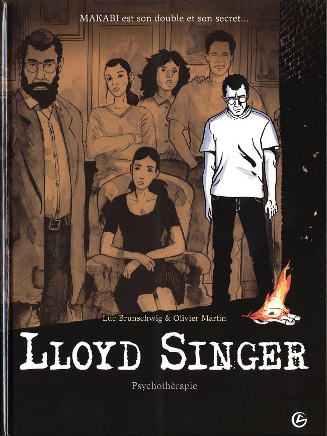 Couverture de Lloyd Singer -7- Psychothérapie