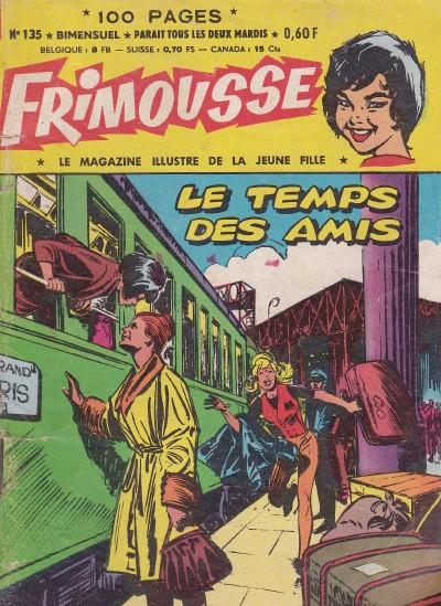 Couverture de Frimousse et Frimousse-Capucine -135- Le temps des amis