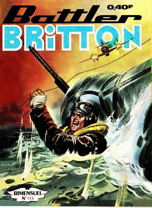 Couverture de Battler Britton -166- Le dirigeable