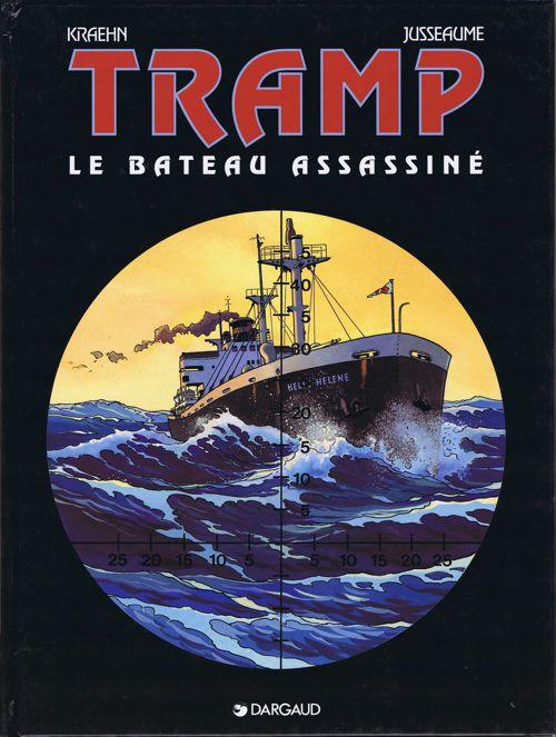 Couverture de Tramp -3- Le bateau assassiné