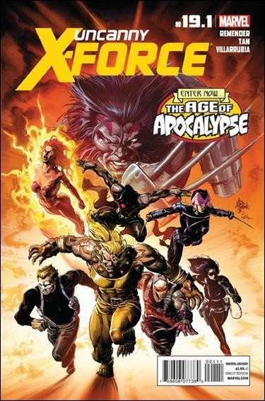 Couverture de Uncanny X-Force (2010) -19.1- Ghost reunion