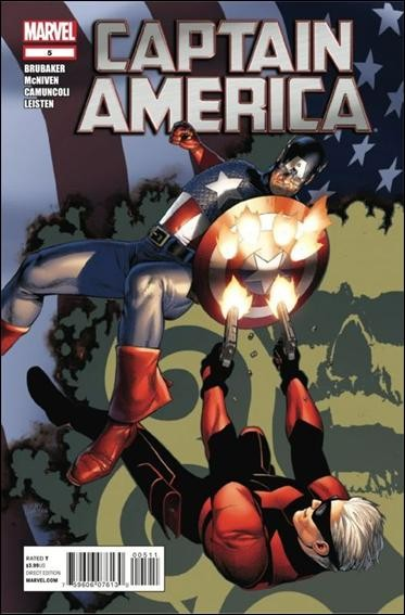 Couverture de Captain America (2011) -5- American dreamers part 5