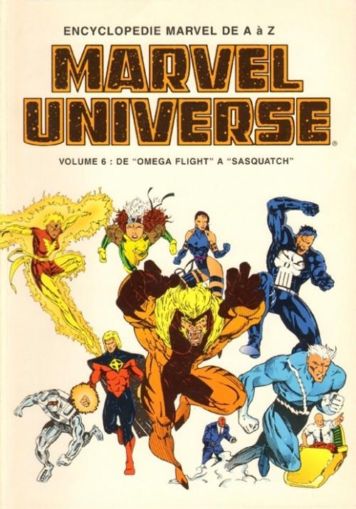 Couverture de Marvel Universe (LUG) -6- Volume 6 : De