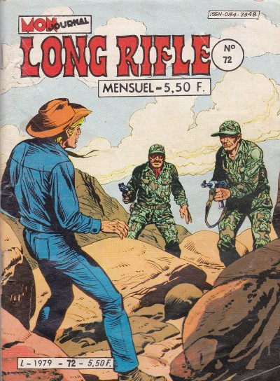 Couverture de Long Rifle -72- Grand boum au