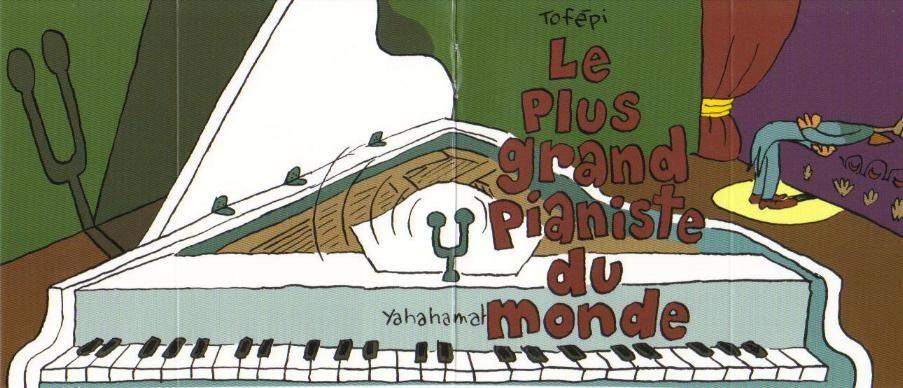 Couverture de Mini-récits et stripbooks Spirou -MR3845- Le plus grand pianiste du monde