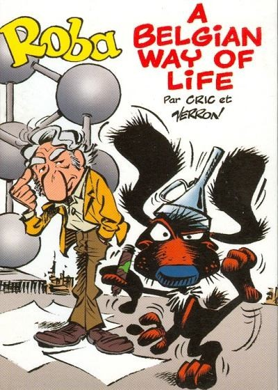 Couverture de Mini-récits et stripbooks Spirou -MR3741- Roba - A Belgian Way of Life