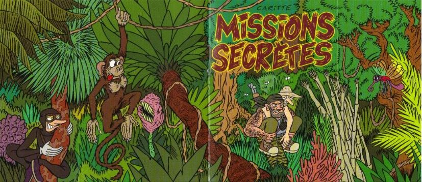 Couverture de Mini-récits et stripbooks Spirou -MR3782- Missions secrètes