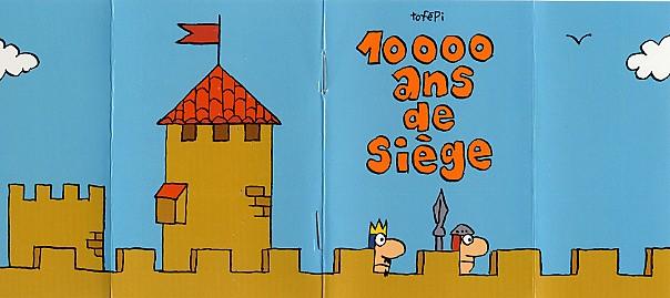 Couverture de Mini-récits et stripbooks Spirou -MR3822- 10000 ans de siège