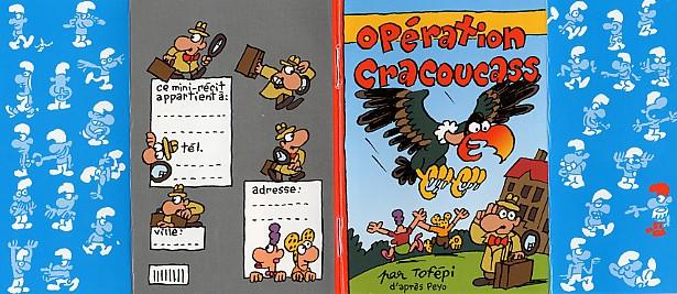 Couverture de Mini-récits et stripbooks Spirou -MR3834- Opération Cracoucass