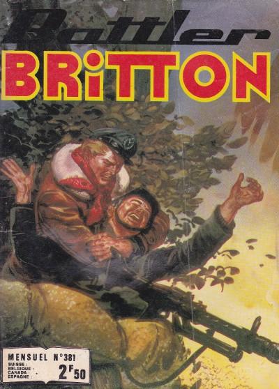Couverture de Battler Britton -381- Tactique spéciale