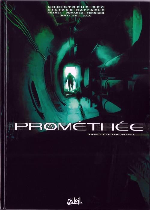 Couverture de Prométhée -5- Le Sarcophage
