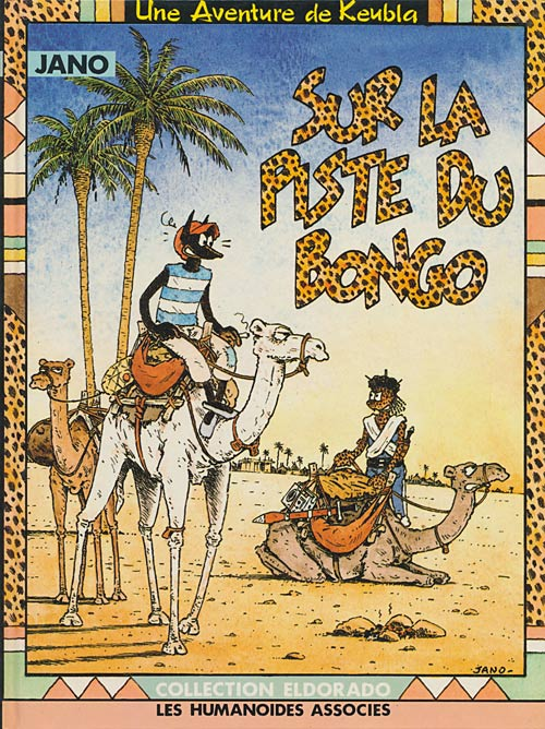 Couverture de Keubla -1- Sur la piste du bongo