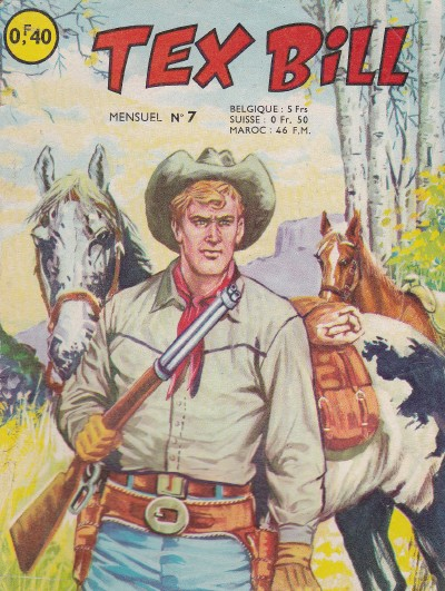 Couverture de Tex Bill -7- La piste de San-Antonio