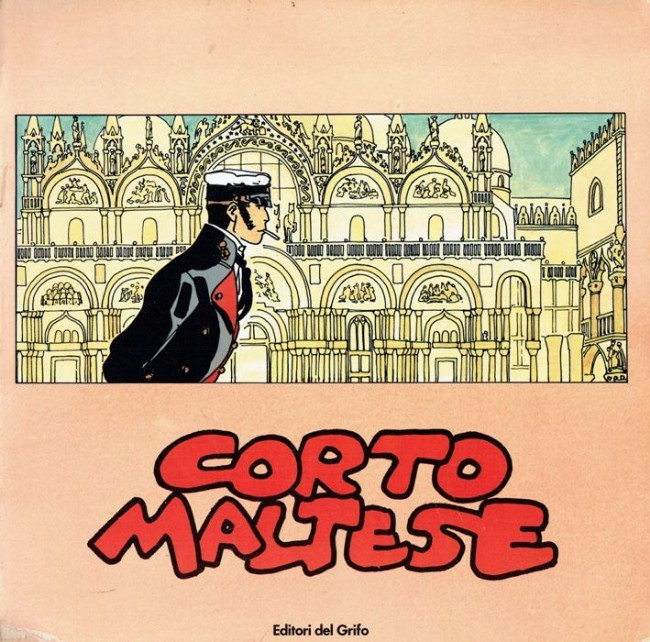 Couverture de (AUT) Pratt, Hugo -Cat- Corto Maltese