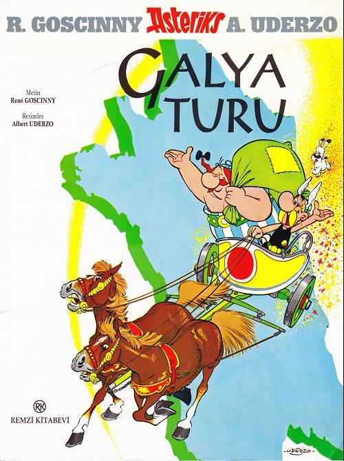 Couverture de Astérix (en langues étrangères) -5Turc- Galya turu