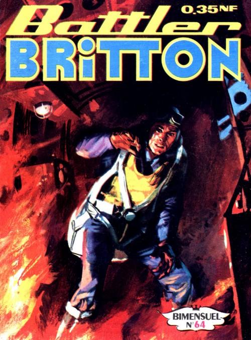 Couverture de Battler Britton -64- Le tunnel secret (4)