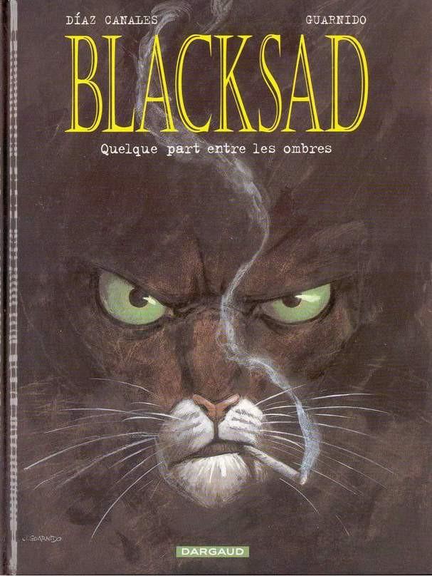 Couverture de Blacksad -1- Quelque part entre les ombres