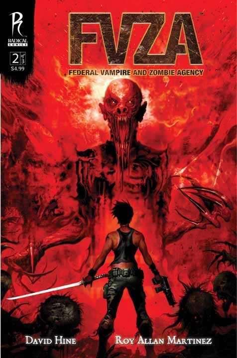 Couverture de FVZA -2- Federal Vampire and Zombie Agency 2/3
