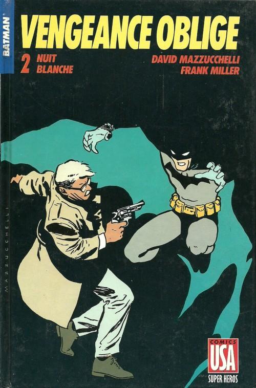 Couverture de Super Héros (Collection Comics USA) -8- Batman : Vengeance Oblige 2/2 - Nuit blanche