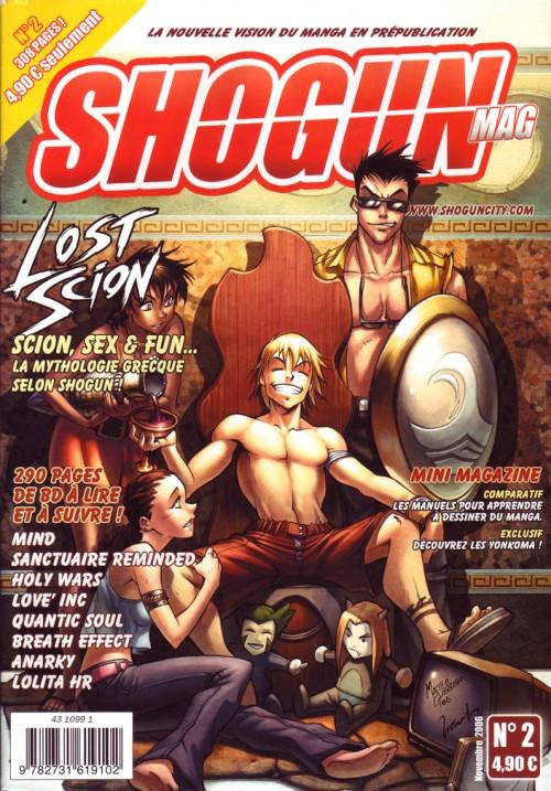 Couverture de Shogun Mag (puis Shogun Shonen) -2- Novembre 2006