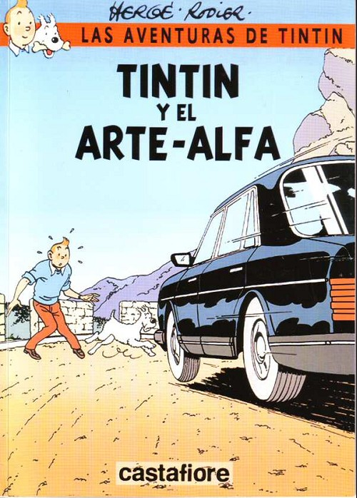 Couverture de Tintin - Pastiches, parodies & pirates -35ESP- Tintin y el arte-alfa