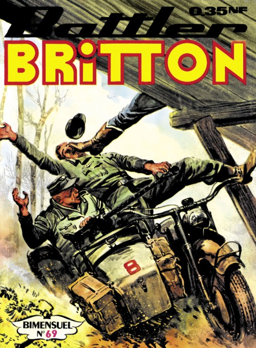 Couverture de Battler Britton -69- Attention torpille ! (1)