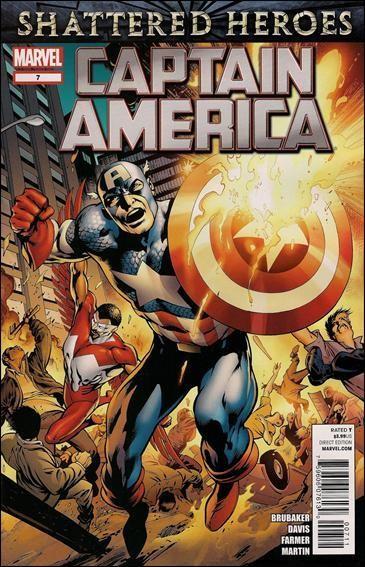 Couverture de Captain America (2011) -7- Powerless part 2