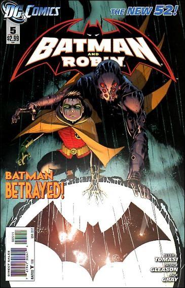 Couverture de Batman and Robin (2011) -5- Mutineer