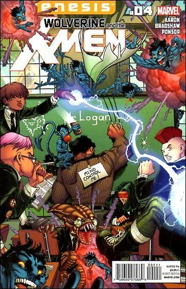 Couverture de Wolverine and the X-Men Vol.1 (Marvel comics - 2011) -4- Just another day in Westchester County