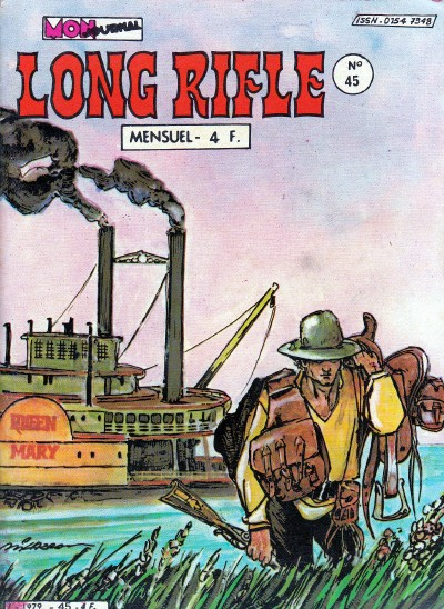 Couverture de Long Rifle -45- La fille du prospecteur