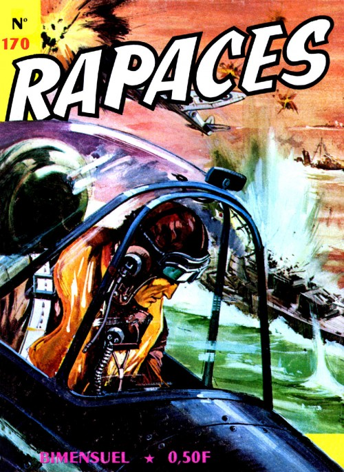 Couverture de Rapaces (Impéria) -170- Achtung-Mosquito !