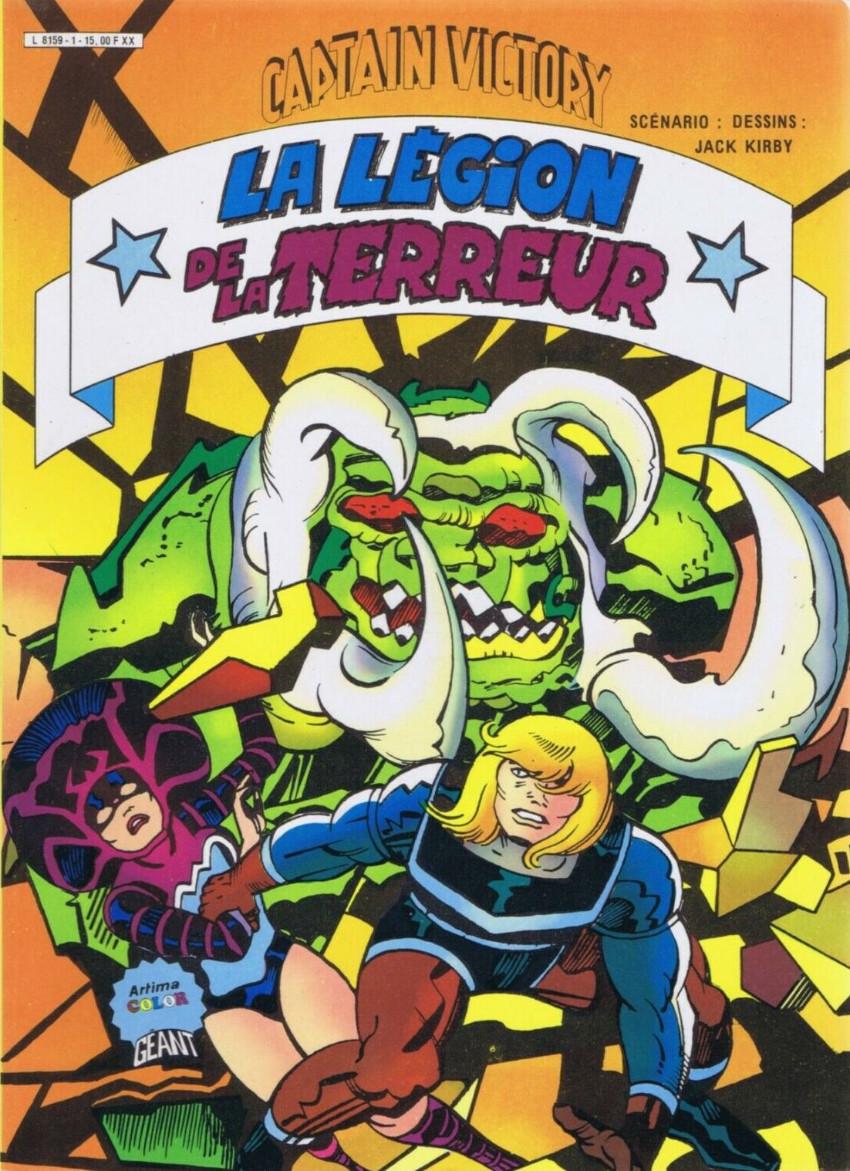 Couverture de Captain Victory -2- La légion de la terreur