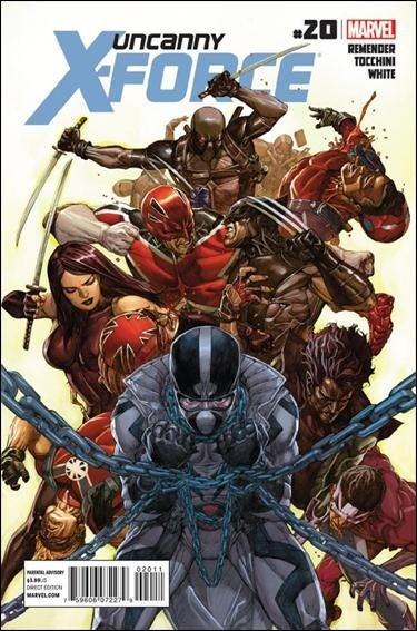 Couverture de Uncanny X-Force (2010) -20- Otherworld part 1