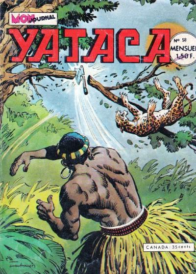 Couverture de Yataca (Fils-du-Soleil) -58- Le secret de N'Gorongo
