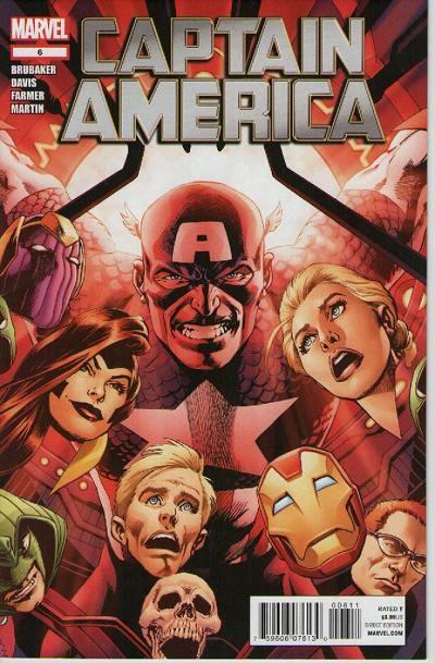 Couverture de Captain America (2011) -6- Powerless part 1