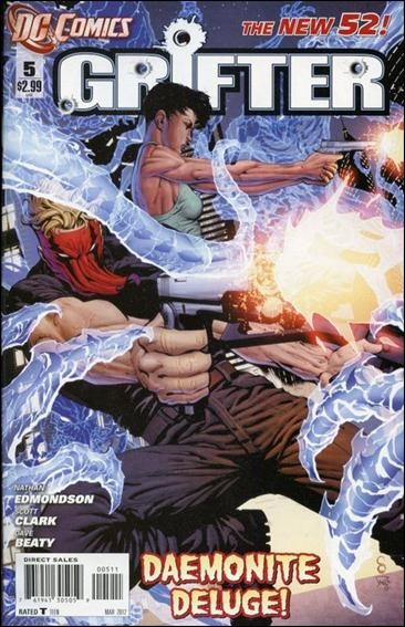Couverture de Grifter (2011) -5- The sleep in Seattle