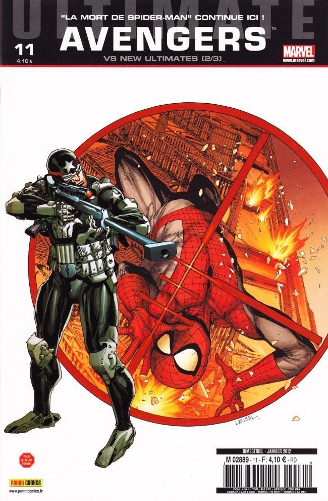 Couverture de Ultimate Avengers -11- Ultimate Avengers vs New Ultimates (2/3)