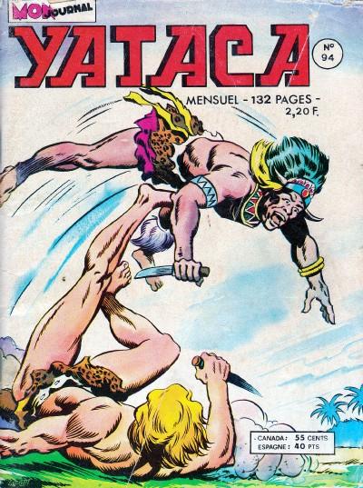 Couverture de Yataca (Fils-du-Soleil) -94- Faux et usage de faux