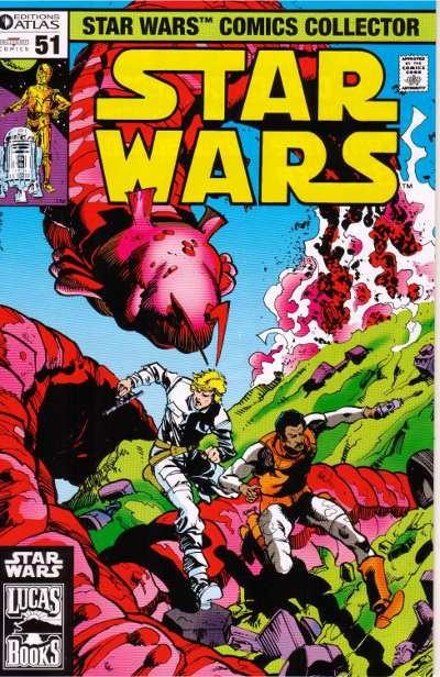 Couverture de Star Wars (Comics Collector) -51- Numéro 51