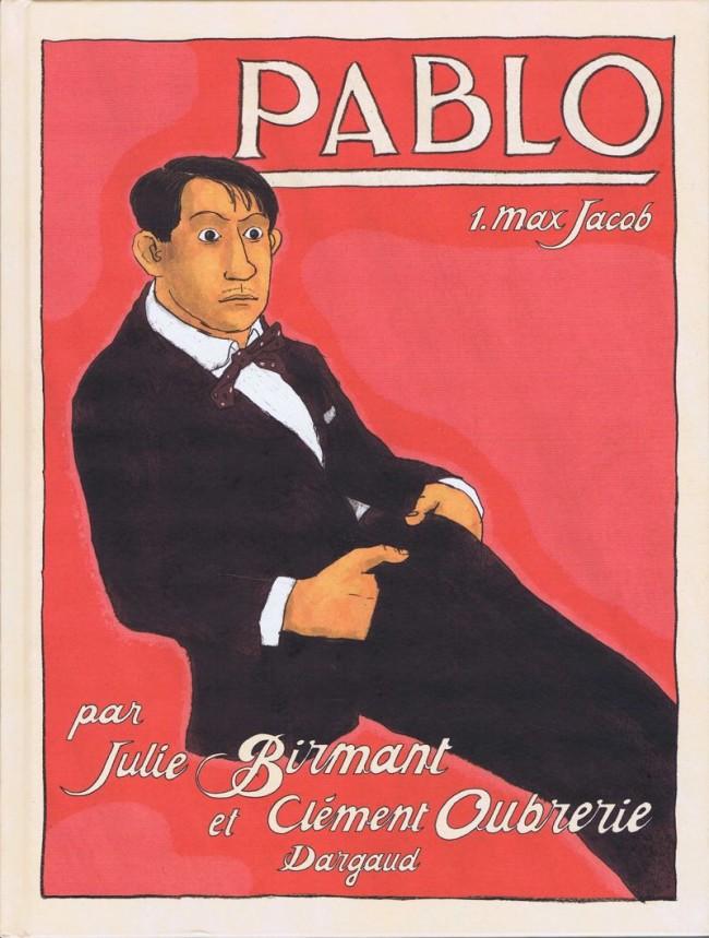 Couverture de Pablo -1- Max Jacob