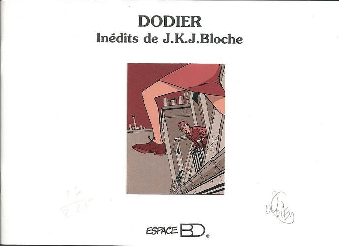 Couverture de Jérôme K. Jérôme Bloche -TL- Croquis